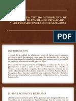 PRESENTACION COLEGIO PRIVADO
