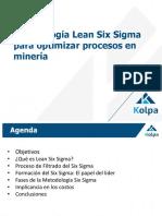 11B. Aplicaciones-Lean Six Sigma