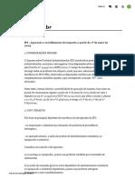 IPI - Apuração e Recolhimento Do Imposto a Partir de 1º de Maio de 2009