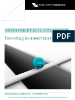 Investment Strategy for 2017