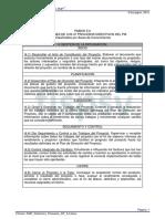 PMP Definicion 47 Procesos Directivos