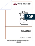 Speed Droop and Power Generation