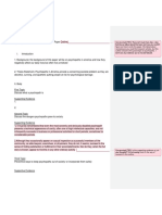 Seymour AP Paper Outline