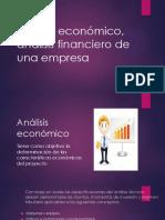 Análisis Económico, Análisis Financiero de Una Empresa