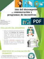Evaluacion Del Desempeño y Remuneracion y Programas de Incentivos