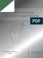 Scientia Nobilitat Paper