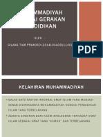 Muhammadiyah Sebagai Gerakan Pendidikan