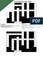 Crucigrama-ISO9001-2008