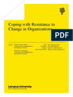 Coping with Resistance to Change in Organizations.pdf