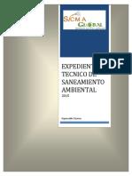 Expediente Tecnico - Sicma Global-2015