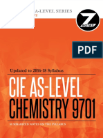 Cie AS Chemistry 9701 Znotes