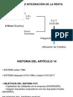 Artículo 14 Ley Impuesto a la Renta Chilena.