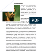 Biografía de Carlos Fonseca Amador