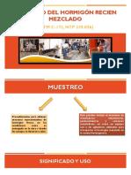 Muestreo Del Concreto Recien Mezclado-diapositivas Terminado