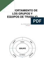 Comportamiento de Los Grupos y Equipos de Trabajo