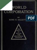 King C Gillette World Corporation 1910