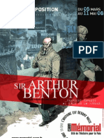 Revue de presse de Sir Arthur Benton au Mémorial