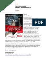 Revue de presse de Sir Arthur Benton au Mémorial #1