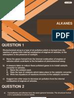 Term 3 Alkanes