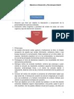 Diagrama Pasos en La Evaluación Infantil - Copia