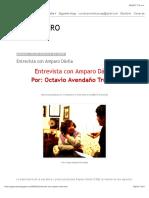 CUBO NEGRO- Entrevista con Amparo Dávila