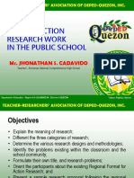 Making Action Research Work in the Public School