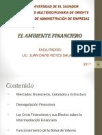 1.- El Ambiente Financiero