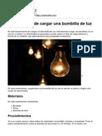Explorable.com - Experimento de Cargar Una Bombilla de Luz - 2015-04-15