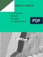 Diseño de Perforacion y Voladura Taladros Largos