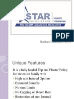 Star Health Insurance ppt
