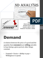 Demand Analysis ppt