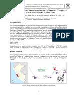 Caracterización Del Abanico Aluvial de La Quebrada Cueva en La Localidad de Maramara Al NE de Lima_López Et Al 2012 de _TIERRA