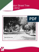 Launceston Street Tree Strategy 2012