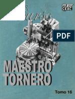 Maestro Tornero Curso Tomo 16
