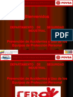 Charla de Seguridad Prevencion de Accidentes