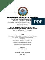 Antologia Pictorica de Las Costumbres y Vivencia Del Machaleño, Utilizando Tecnica Acrilica