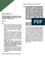 Gandionco v. Peñaranda Digest
