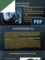 Clasificación Del Mantenimiento EXPOTAREA