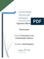 Conexiones en Transformadores Trifasicos