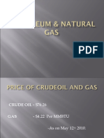 Petroleum & Natural Gas