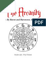 The Arcanity - Baron and Baronessa Araignee
