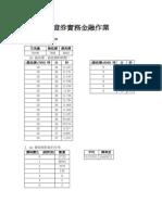 102071014證券實務金融作業