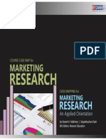 Marketing Research Course Case Map