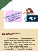 1.1complicaciones en El Embarazo