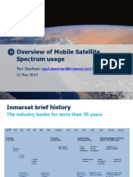 Inmarsat - Mobile Satellite Spectrum Usage