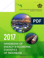 Content Handbook of Energy Economic Statistics of Indonesia 2017
