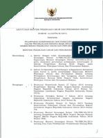 Keputusan Menteri Pekerjaan Umum dan Perumahan Rakyat Nomor 965/KPTS/M/2016