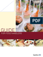 Concordia Guide for Food Handlers