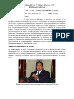 Fuero Parlamentario Primer Ministro Guyana