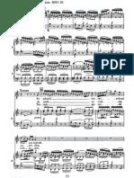 BWV 26 T Fl Vln BC Vocal Organ